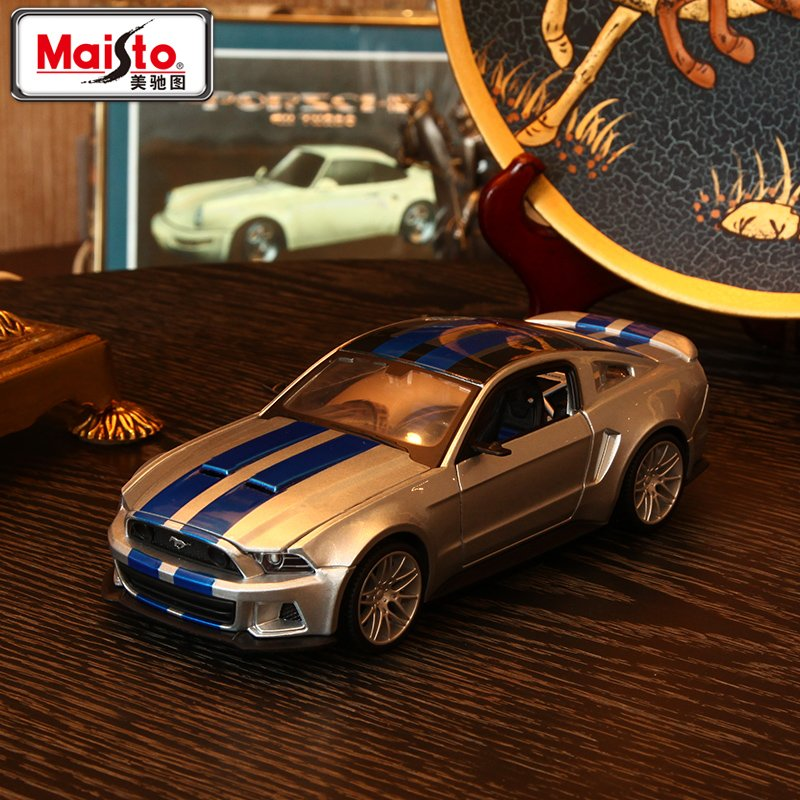 Maisto1:24 Speed Mustang GT Alloy Cars Models Free Shipping Metal Car For Collection Car Lovers Diecast 1:24 Nice Mustang Models(China (Mainland))