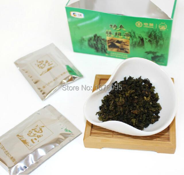 Kung Fu tea, iron view, economical attire, tea aroma assail the nostrils. Often drink good 10 small bag / box 70g(China (Mainland))