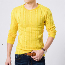 2016 Winter Sweater Men O-neck Casual Knit Jumpers Sweaters Mens Long Sleeve Pullovers Famous Brand Sweater Men Stylish(China (Mainland))