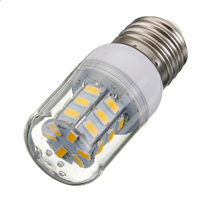 Hot Sale E27 27 LED 5730 SMD Super Bright White Warm White Energy Saving Corn Lights Spotlight Lamp Bulb DC12V(China (Mainland))