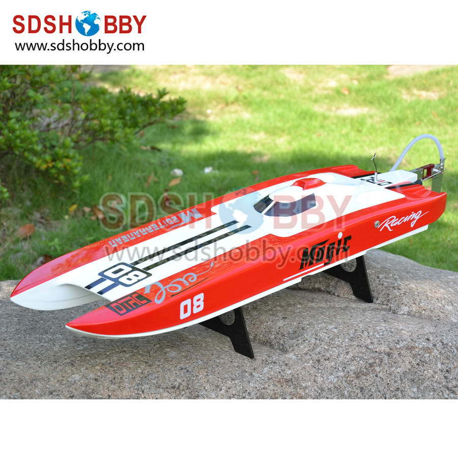 E32 Leopard Racing Boat/ Brushless Catamaran Boat/ RC Electric Boat with 3674 1860KV Motor/ 120A ESC(China (Mainland))