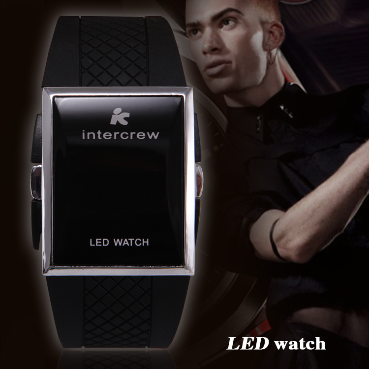 Fashion Casual Watch Men Digital Led Watches Silicone Strap Wristwatch Sports Male Clock Relogios Masculino - Only-Time store