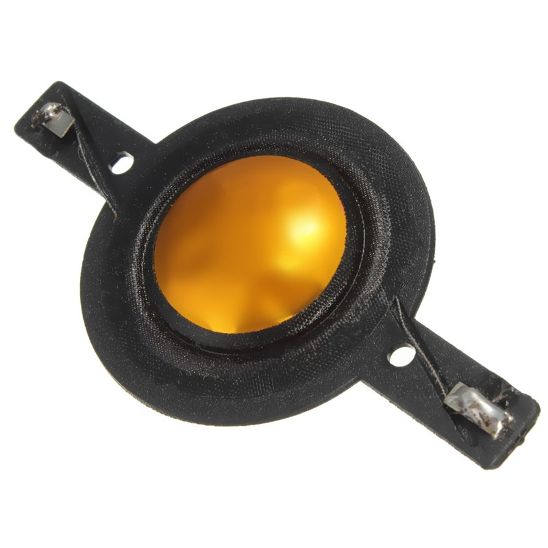 1PC Gold And Black 25.5mm Composite Gold Tweeters Diaphragm Voice Coil-short Frame High Quality<br><br>Aliexpress