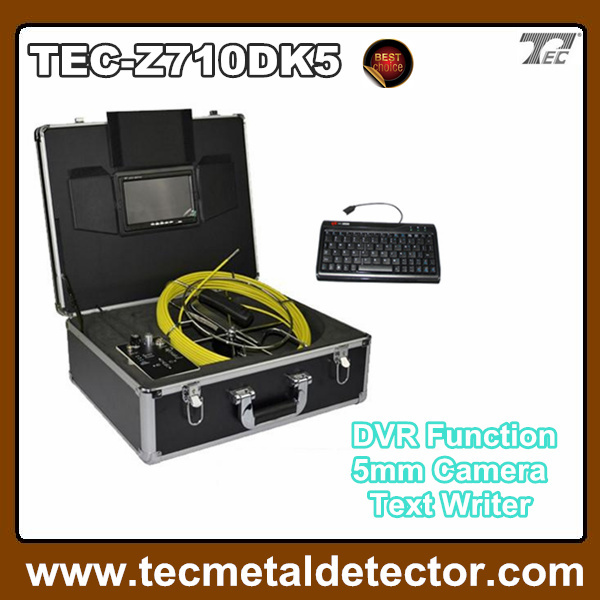 CE certification!!!underwater inspection camera drain inspection camera with 40m cable TEC-Z710DK5(China (Mainland))