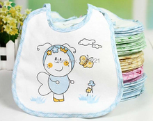Free Delivery Cotton waterproof slobber towel baby supplies eat Dou Bibs rice bag children eat clothes