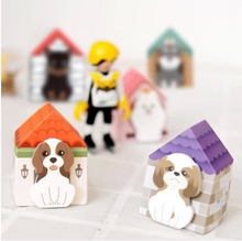 Korean Puppy House-it notes affixed to the dog house Memo Pads 5 models free shipping(China (Mainland))
