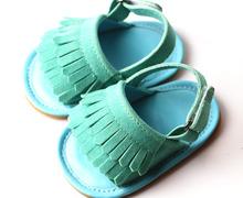 100pairs/lot baby fringe prewalker kids tassel moccasins