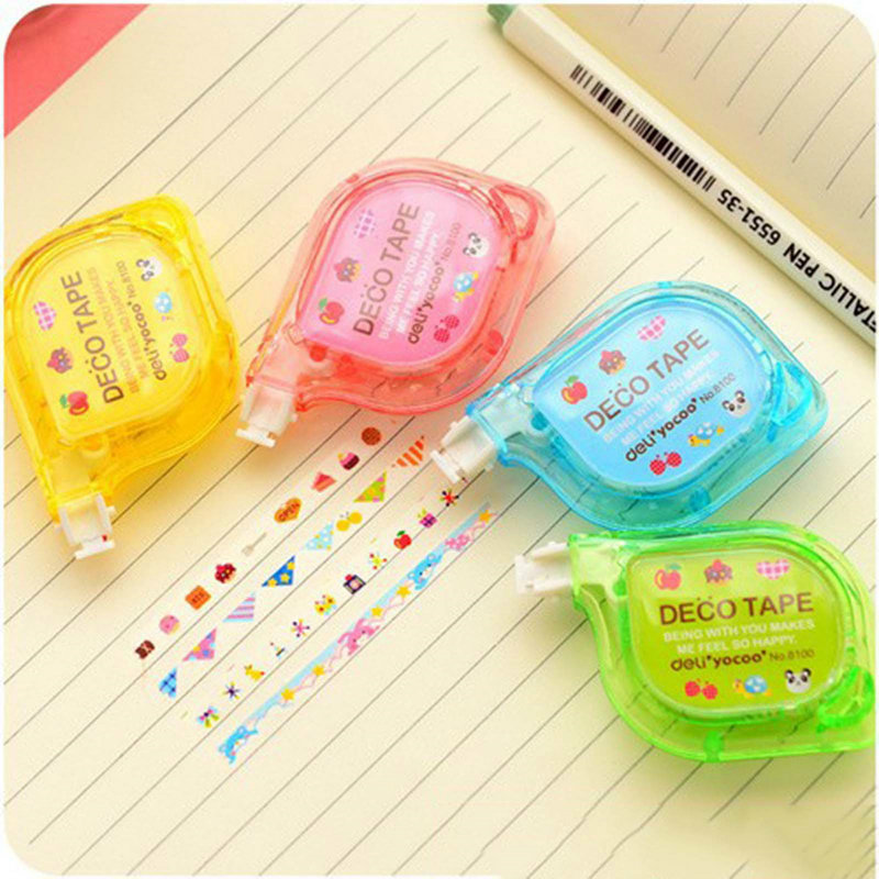 Decorative Tape for Letter Diary Stationery Push Correction Tape School Supplies<br><br>Aliexpress