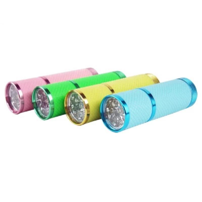 2015 pink yellow green blue lights LED Torch 7W 400LM CREE Q5 Flashlight Adjustable Focus Zoom flash Light Lamp - led lamp world store