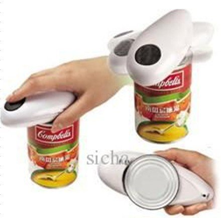 50Pcs/Lot+One touch Can Opener,One Touch Electrical Automatic Can Opener,bottle openers/one touch jar opener