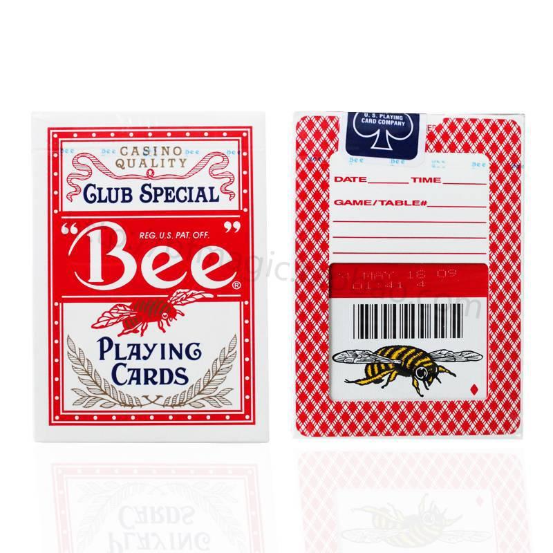كبير البوكر النحل الولايات المتحدة جودة عالية أوراق اللعب الخدع السحرية 100% قسط الأصلي نادي خاص(China (Mainland))
