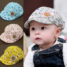 Free shipping 2015 New Style in Spring and Autumn Free Shipping Elastic 42-52cm Unisex Baby Hat Caps 3-24Months#YE115(China (Mainland))