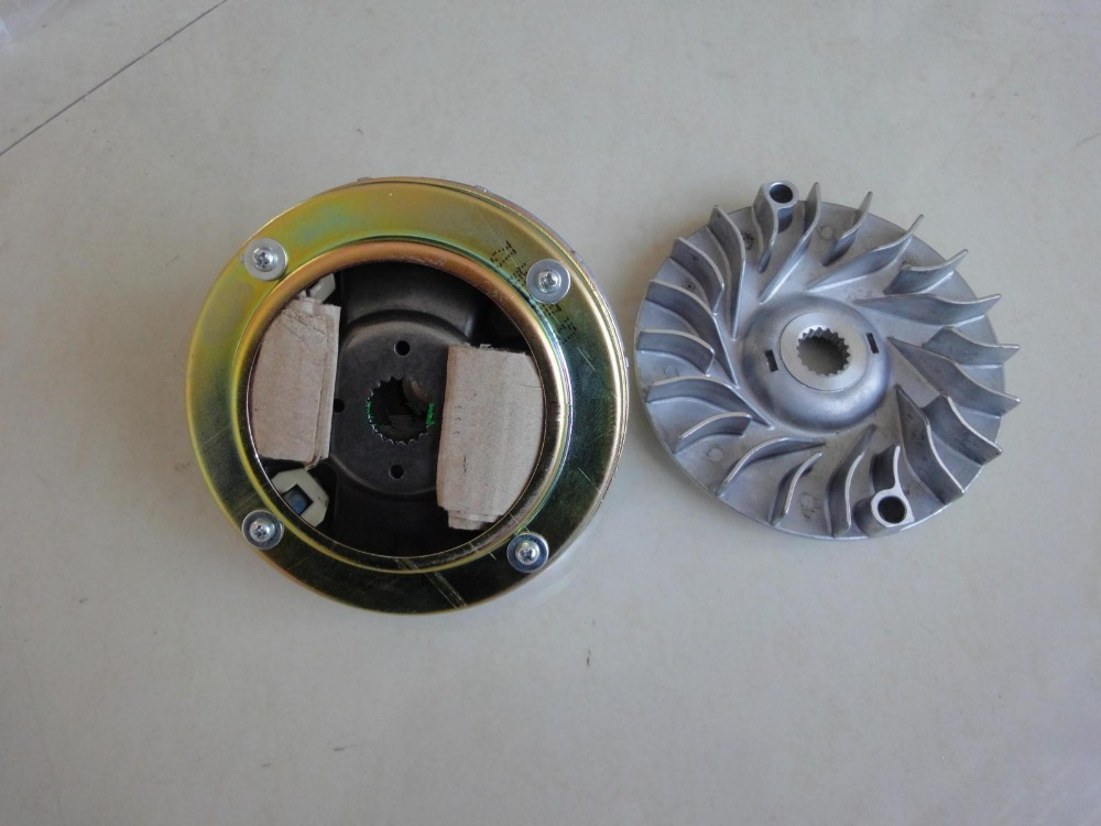 FRONT CLUTCH /DRIVE WHEEL FACE DRIVE PULLEY FACE OF LINHAI 400 ATV/MOTORCYCLE(China (Mainland))