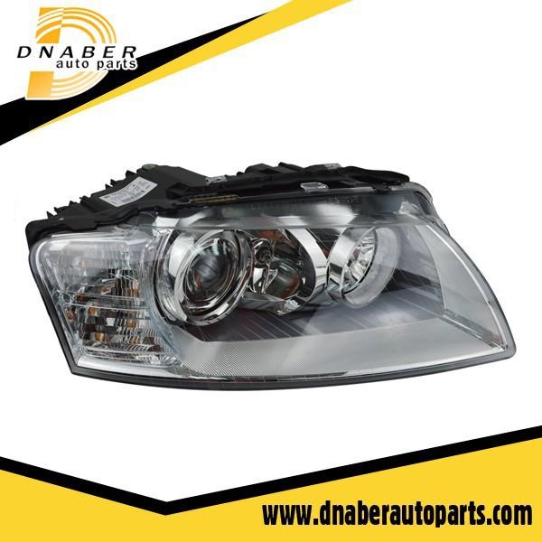 A pair Top Quality Headlight for Audi A8 A8Q 2004~2010 LH + RH 4E0941030BR 4E0941029BR(China (Mainland))