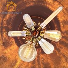 Buy Antique Vintage Retro Creative Edison Bulb Incandescent Light Bulbs 220V 40W E27 Carbon Filament Bulb ST64 G95 A19 T45 Lighting for $1.89 in AliExpress store
