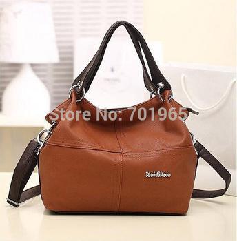 Cheap Products Polar Special Offer  PU Leather bags women messenger bag/ Splice grafting Vintage Shoulder Handbag