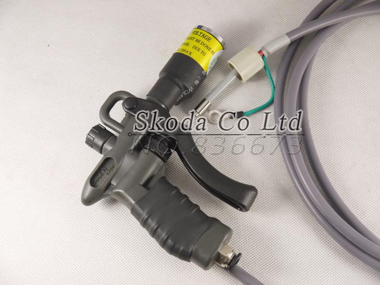 SIMCO 04A dedicated high voltage power supply + HBA ionizer air gun. Electrostatic dedusting gun Static eliminator<br>