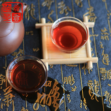 Puer Tea 357g Menghai old ripe pu er tea cake 4 years old puer from Yunnan