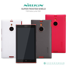 Free Shipping For Nokia Lumia 1520 NILLKIN Super Frosted Shield Hard Case Fashion High Quality PC Gift Screen Protector(China (Mainland))