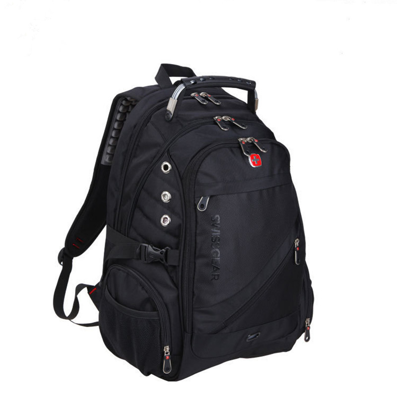 Swiss army backpack bag 15 inch Laptop backpack Men and women business double shoulder Travel backpack School computer bag BMJ03(China (Mainland))