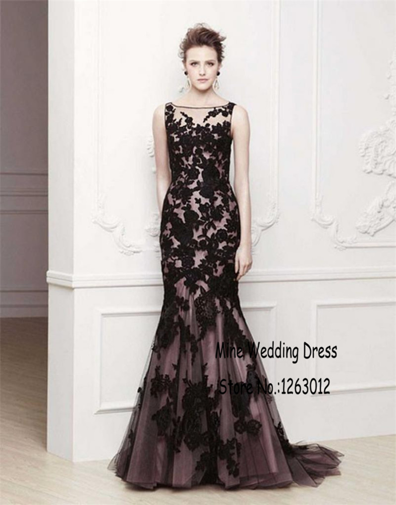 Purple and black lace dress - Best Dressed
