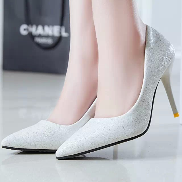 2015 spring and autumn single shoes high thin heels shoes shallow mouth womens shoes gentlewomen pointed toe shoes womens<br><br>Aliexpress