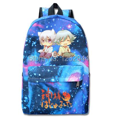 The Sunny One girl 'god Animation school bag luminous backpack Anime peripheral ideas(China (Mainland))