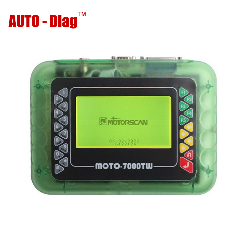 High Quality MOTO 7000TW Universal Motorcycle Scan Tool Autobike Diagnostic Tool(China (Mainland))