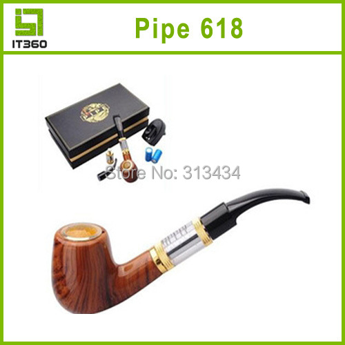 E Pipe 618 Electronic Cigarettes 1200 Puffs Old-Fashioned Vapor Smoking Style - Shenzhen IT360 Technology CO,Ltd store