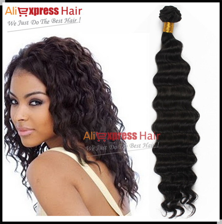 Aliexpress Hair Products Tangle Free 8-30 Hot Sale High Quality 6A Grade  Luxury Deep Body Wave Brazilian Virgin Hair Extension<br><br>Aliexpress