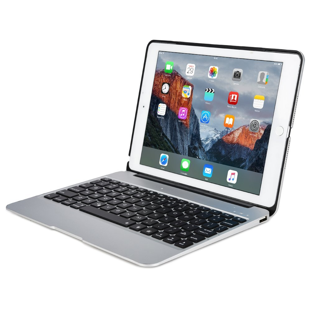 For Macbook Clamshell i pad Mini 4 Case Apple Ipad Silver Wireless Keyboard Sleeve Clavier Azerty 2800mAh Power Bank 7 Backlit(China (Mainland))