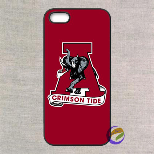NCAA Alabama Crimson Tide Football fashion case cover for iphone 5 5S 4 4S 5C for 6 & 6plus(China (Mainland))