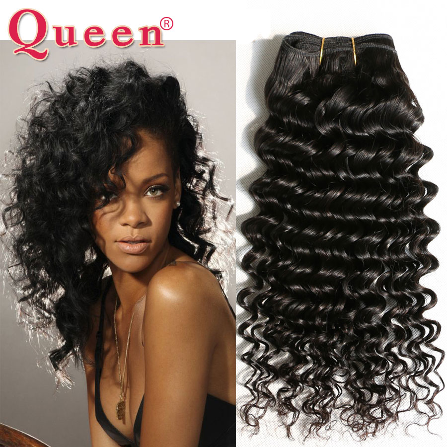 Compare prices on weave queen hair extensions online shoppingbuy 8a indian deep wave virgin human hair extension 300g indian virgin hair deep wave remy hair pmusecretfo Image collections