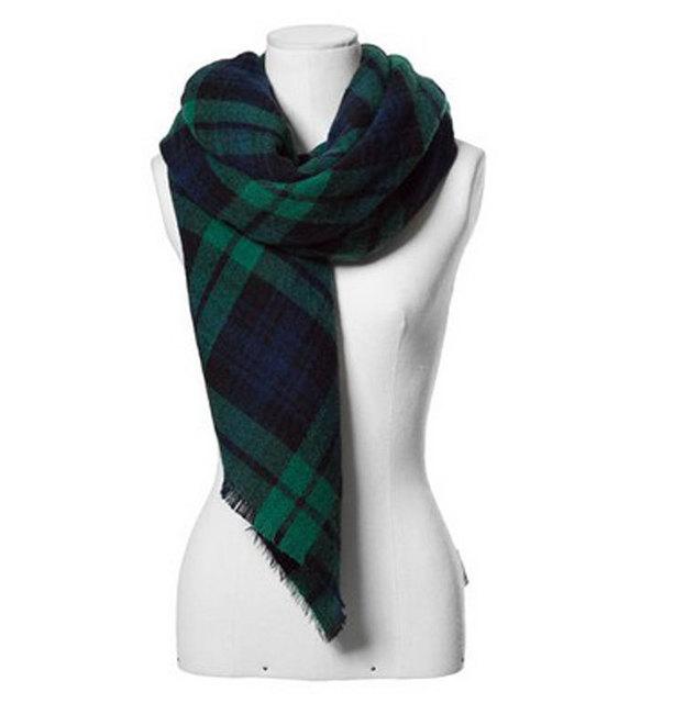2016 новое поступление зима мода женщин бренд дизайн евро и америке улице плед цветовой гаммы шарф большой размер шали 4 цветов