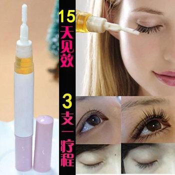 Free Shipping Eyelash Growth Treatments Liquid Thicker Longer Slender 15 days Grow Eyelashes Have Effect