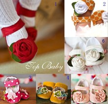 Topbaby flower shoes baby infant children shoes non-slip shoes toddler shoes 3135(China (Mainland))