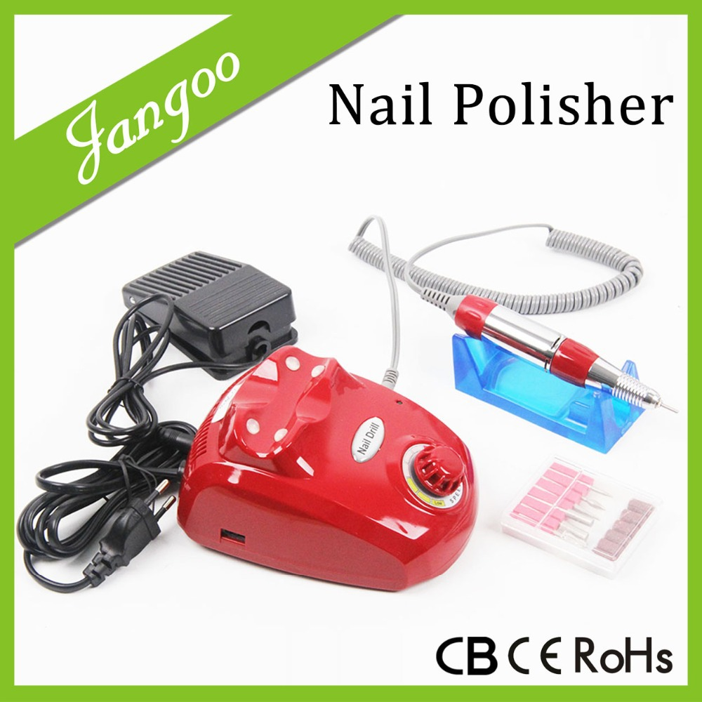Electric Nail Art Salon Drill Suction Vacuum Bits Handpiece Electric Nail File Machine 30000rpm(China (Mainland))