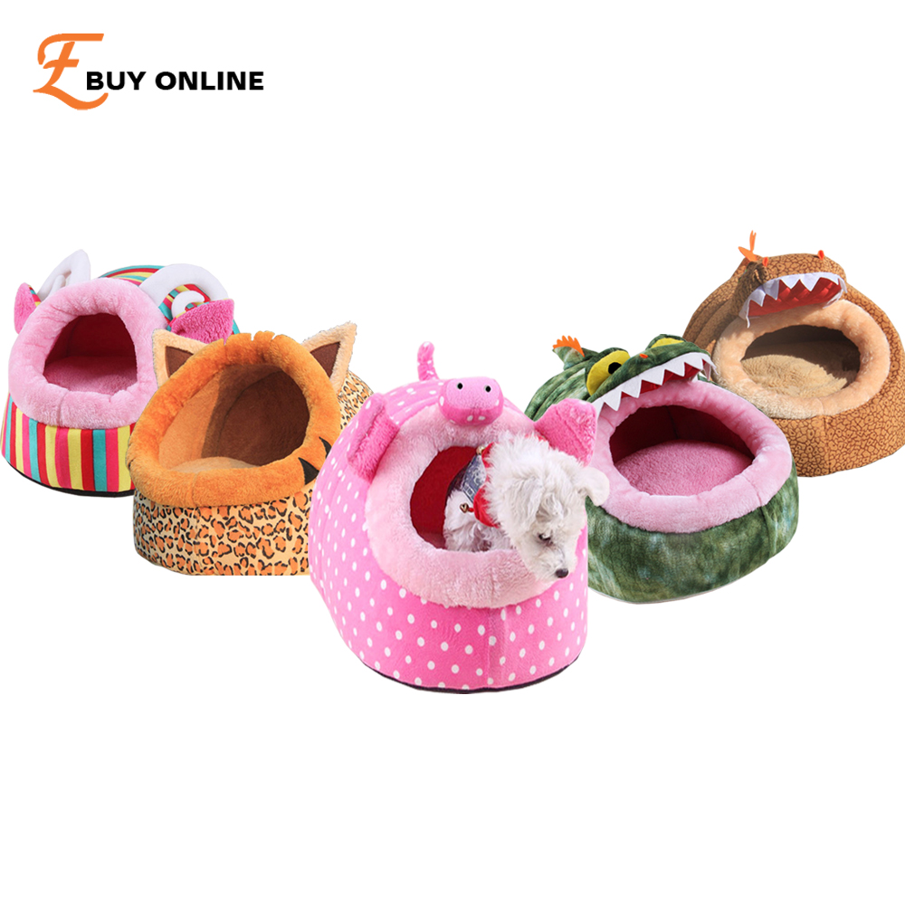 2016 Hot Sale Pet Products Winter Funny Style Cotton Pet Puppy Sleeping Bag Shark Dog Kennel Bed Lovely Soft Pet Bed for Dogs#1(China (Mainland))
