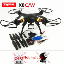 RC drone Syma X8 X8C X8W without camera and transmitter 2.4Ghz 6-Axis drones Big Quadcopter RC Helicopter VS MJX X101