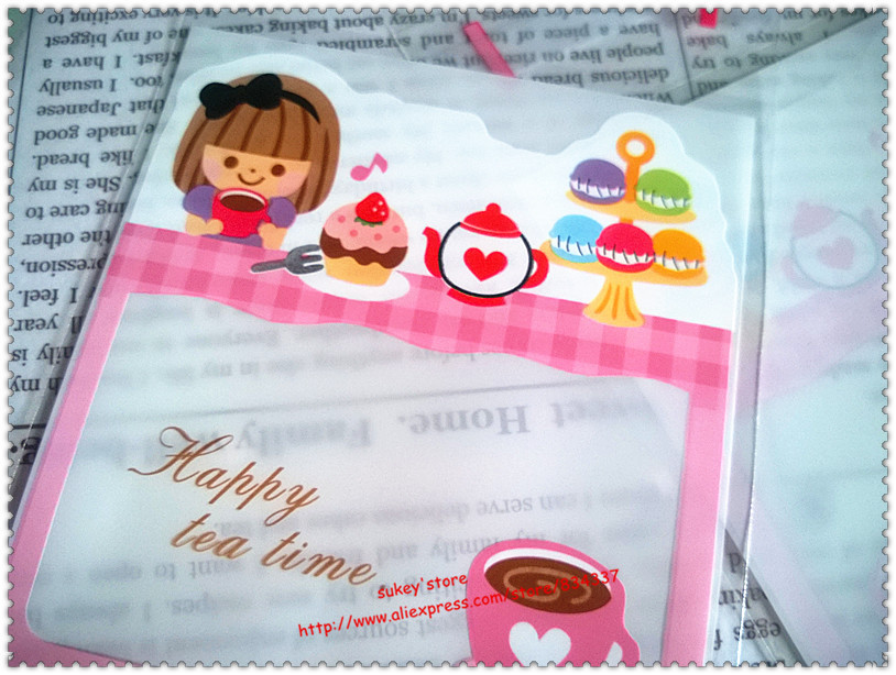 100pcs/lot Pink girl Plastic cookie packaging bags,10x11cm cake bag,cupcake wrapper free shipping(China (Mainland))