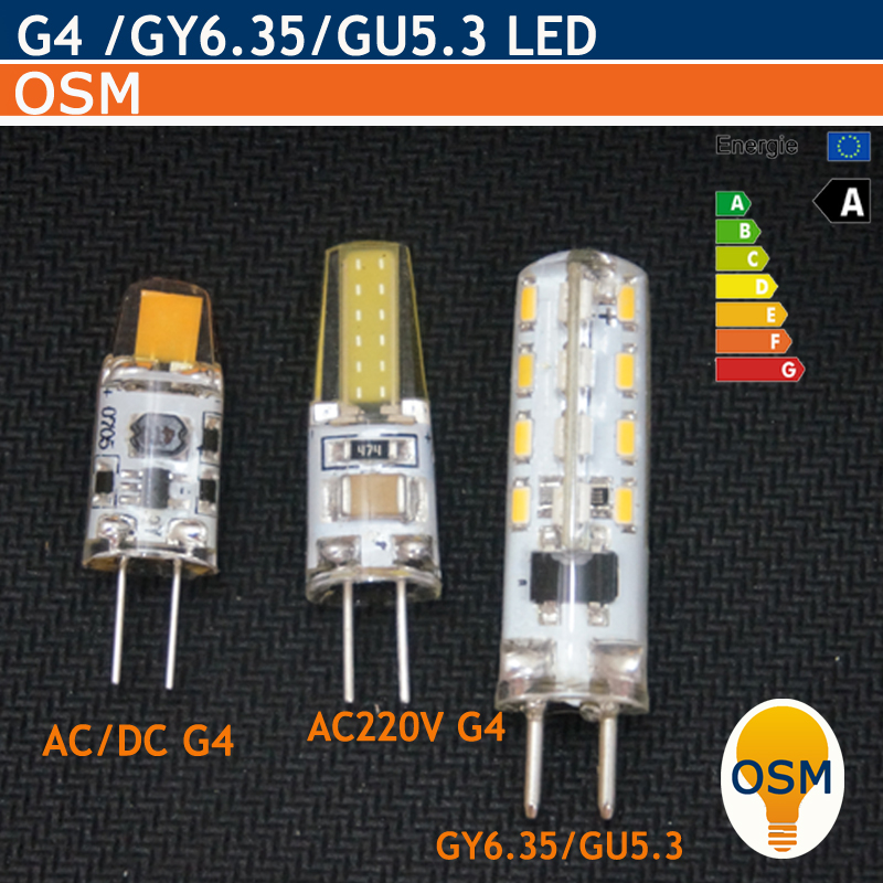 G4 LED AC/DC 12V AC220V G4 Light GY6.35 GU5.3 220V 3W 5W 6W LED G4 COB Lamp Bulb Chandelier Lamps Replace Halogen LED Light(China (Mainland))