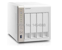 QNAP TS-451 Support real-time video turn the highly efficient dual core of NAS  (1GB DDR3L RAM)(China (Mainland))