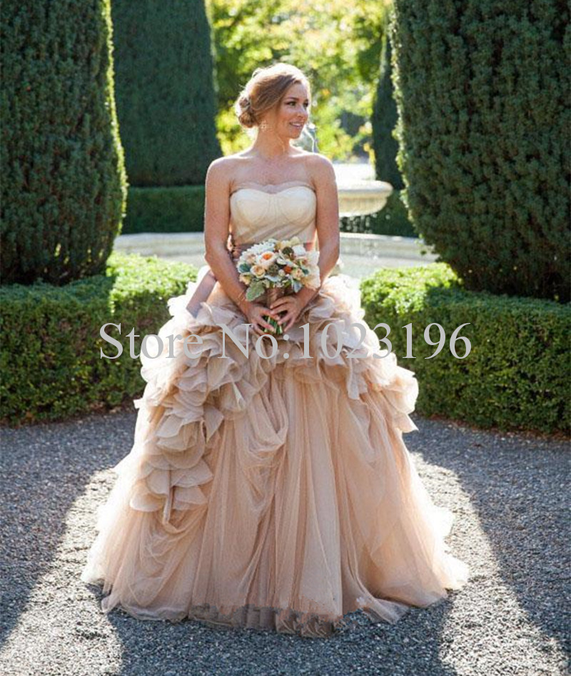 online get cheap rustic wedding dresses