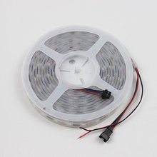 Magic Color Tube Waterproof RGB LED lights DC5V led strip LPD8806 IC 36leds/m 18IC with high quality free fedex(China (Mainland))