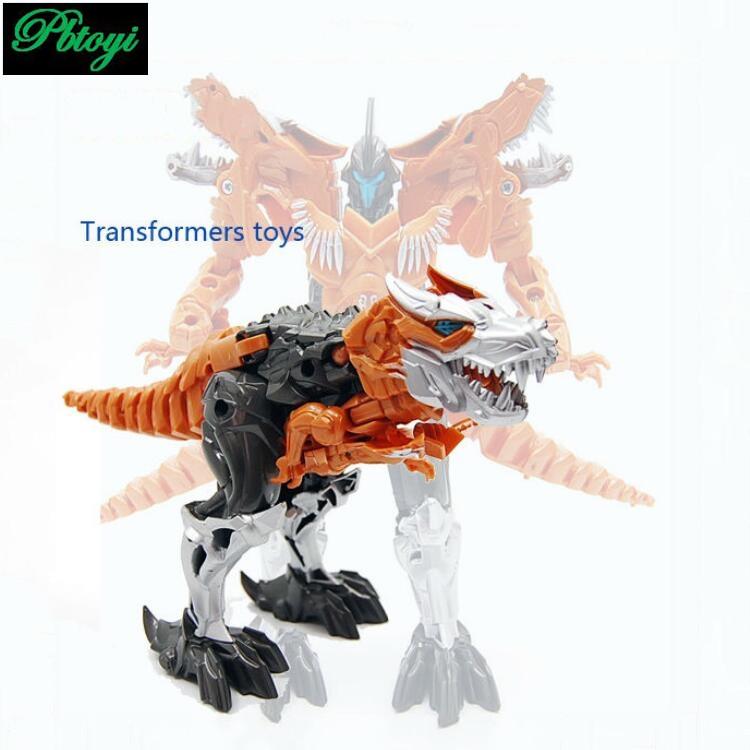 Transformation Dinosaur Robots Transformable Toys For Children Boys Kids Action Figure Dinosaur Model Toy PI0653 1pcs/set(China (Mainland))