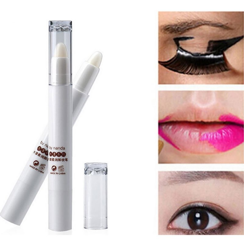 Unisex Lip Eye Make up Correction Pen Makeup Remove Cream Pen Remover Pen