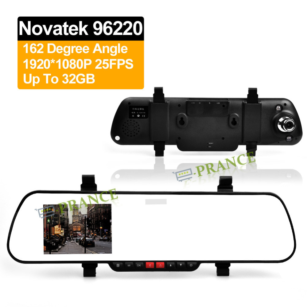 "E-prance 2.7"" LCD X11 Car Rear View Mirror DVR Camera 1080P Novatek 96620 IR Night Vision Rearview Video Recorder Motion Sensor(China (Mainland))"