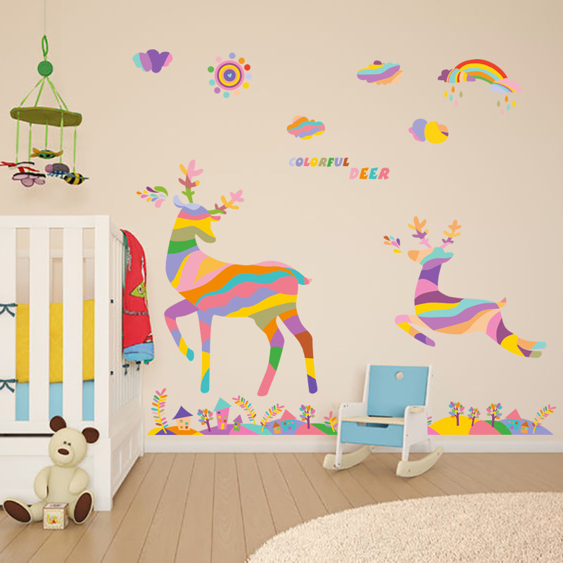 Bedroom Wall Stikers For Kids Room Home Decor Stickers In Wall