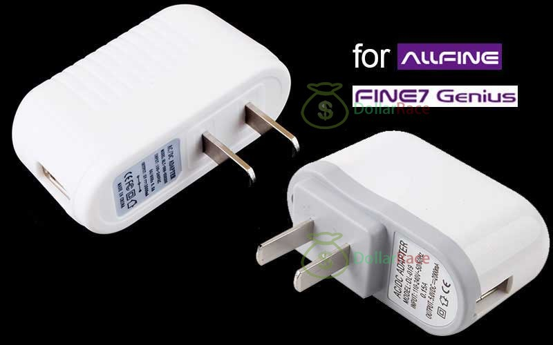 Dollarace Mini New AC Power Wall Home Charger Adapter for AllFine Fine7 Genius Tablet PC(China (Mainland))