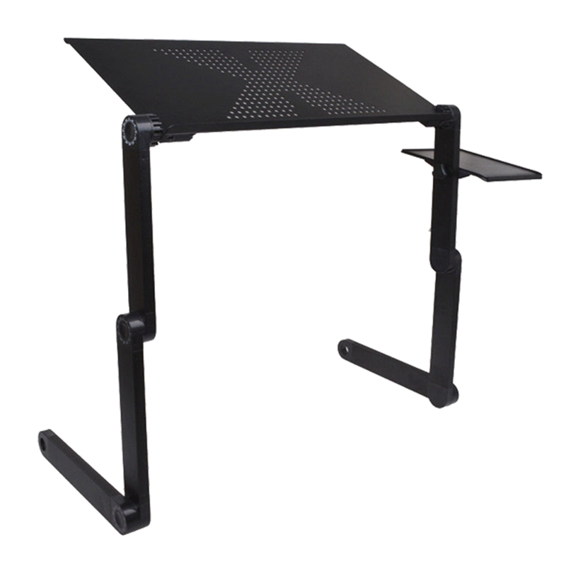Brand New High Quality Portable Adjustable Foldable Laptop Notebook PC Desk Table Vented Stand Bed Tray(China (Mainland))